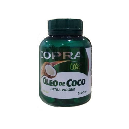 Óleo de Coco Extravirgem 1000mg 60 Capsulas
