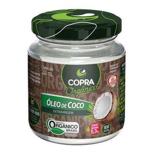 Óleo de Coco Orgânico Extra-virgem 200ml Copra