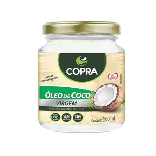 Óleo de Coco Virgem - 200 Ml