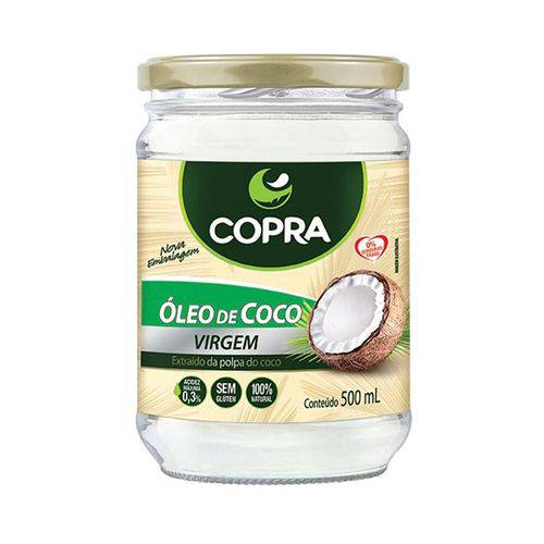 Óleo de Coco Virgem - 500 Ml