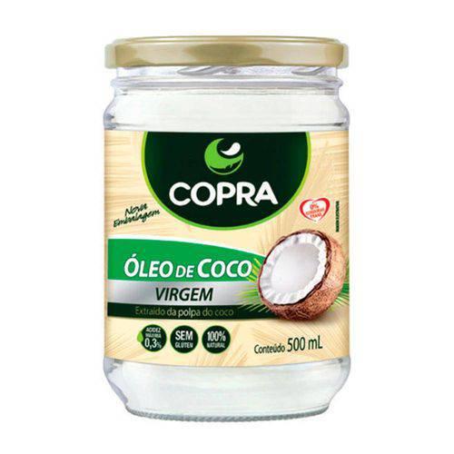 Óleo de Coco Virgem 500ml - Copra Alimentos
