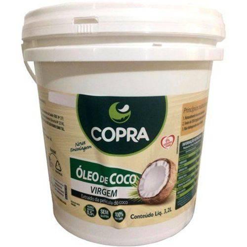 Óleo de Coco Virgem 3,2l Copra