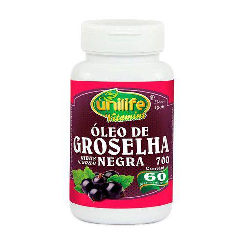 Óleo de Groselha Negra 60 Capsulas