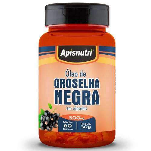Óleo de Groselha Negra Apisnutri 60 Cápsulas