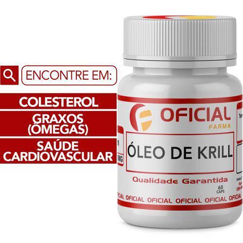 Óleo de Krill 60 Cápsulas