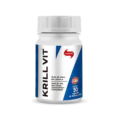 Óleo de Krill - Vitafor - 30 Cápsulas de 500mg