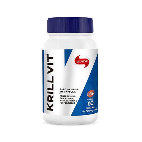 Óleo de Krill - Vitafor - 60 Cápsulas de 500mg