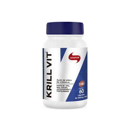 Óleo de Krill Vitafor 60 Cápsulas