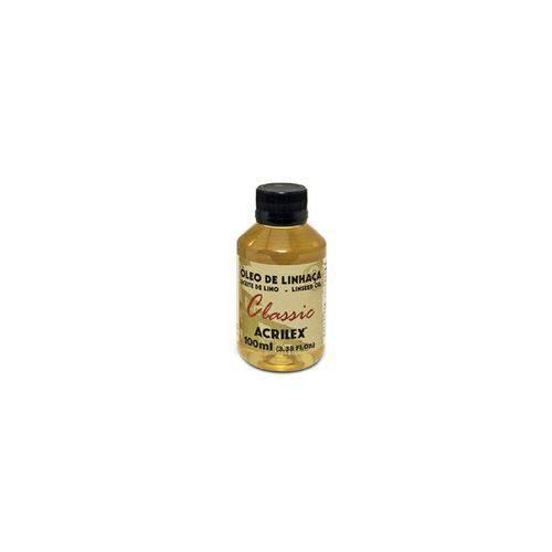 Oleo de Linhaca 100ml-acrilex
