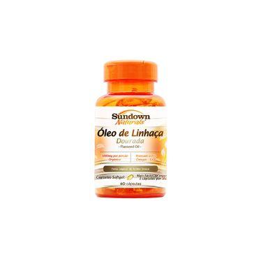 Óleo de Linhaça Sundown 60 Comprimidos