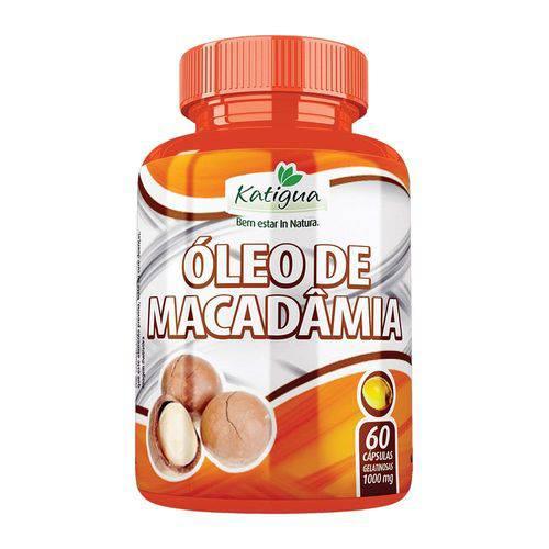 Óleo de Macadâmia - 60 Cáps. - 1000 Mg