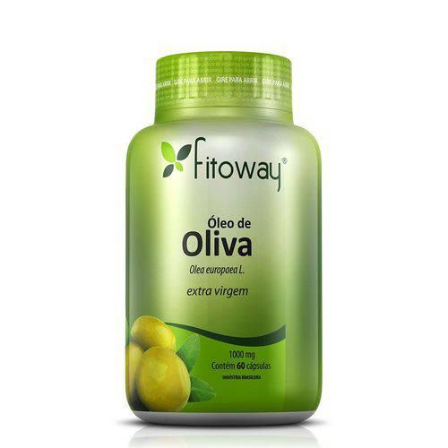 Oleo de Oliva Fitoway 1g - 60 Caps