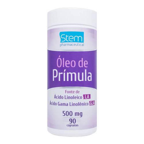 Óleo de Prímula - 120 Cápsulas - 500mg - Stem Pharmaceutical