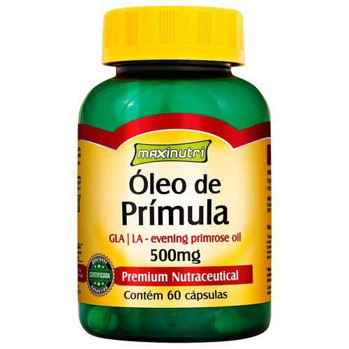Óleo de Prímula 500Mg - 60 Cápsulas - Maxinutri