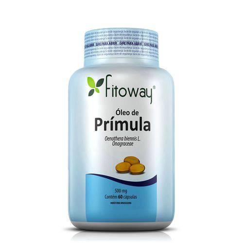 Oleo de Primula 500mg Fitoway 60 Capsulas