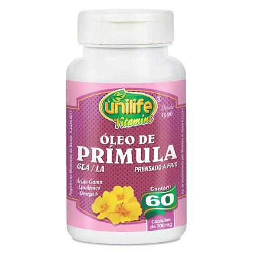 Oleo de Primula 60 Capsulas Unilife