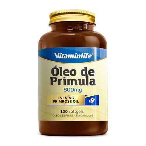 ÓLEO de PRÍMULA - Evening Primrose Oil 500 Mg - Vitaminlife