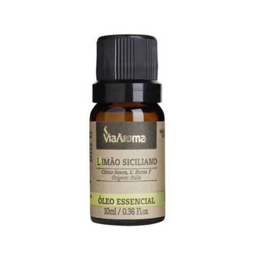 Óleo Essencial 10ml - Limão Siciliano - Via Aroma
