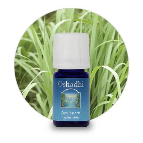 Óleo Essencial de Capim Limão / Lemongrass Orgânico Oshadhi 5ml