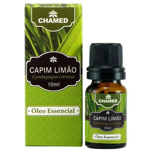 Óleo Essencial de Capim Limão Lemongrass 10ml Puro - Chamed