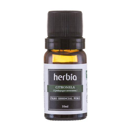 Óleo Essencial de Citronela 10ml – Herbia