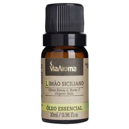 Oleo Essencial de Limão Siciliano - 10ml - Via Aroma