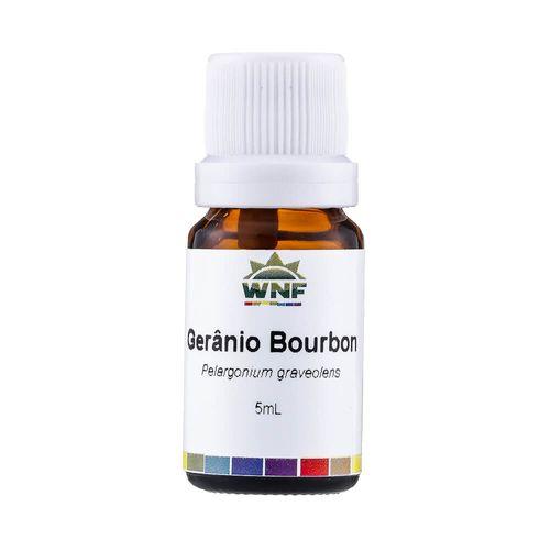 Óleo Essencial Orgânico de Gerânio Bourbon 5ml – WNF
