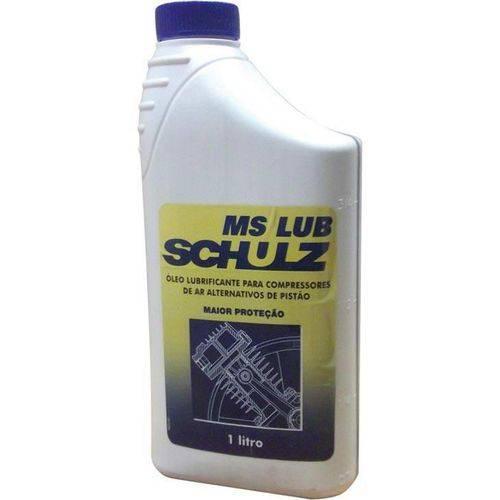 Óleo Lubrificante para Compressor de Ar Schulz, 1 Litro - 2MS15