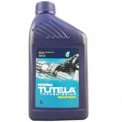 Óleo Lubrificante Petronas Tutela 75W85 Geartech API GL4 Sintético para Transmissão Mecânica 1L