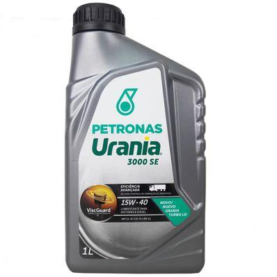 Óleo Lubrificante Petronas Urania 3000 SE 15W40 Turbo LD para Motores Diesel 1L