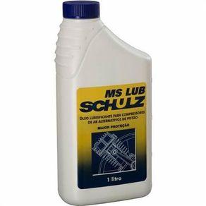 Óleo para Compressores 1 Litro - MS LUB Schulz