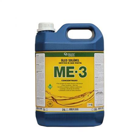 Óleo Solúvel ME-3 Sintético de Base Vegetal 5 Litros