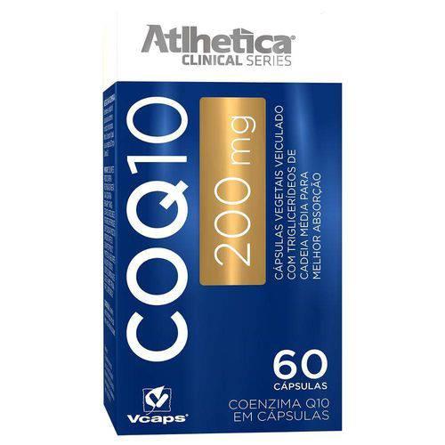 Óleos e Minerais Coq10 200mg - Atlhetica - 60 Cápsulas