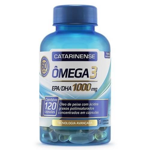 Omega 3 - 120 Cápsulas - Catarinense