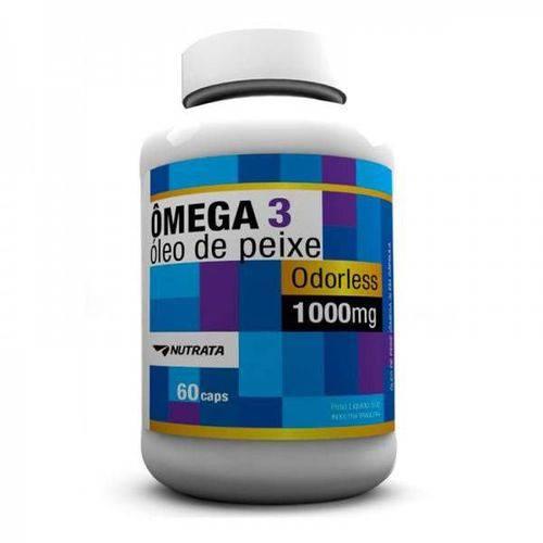 Ômega 3 1000Mg 60 Cápsulas - Nutrata