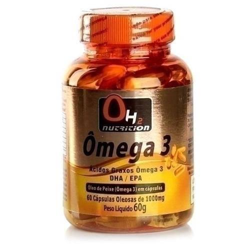 Omega 3 1000mg 60 Capsulas Oh2