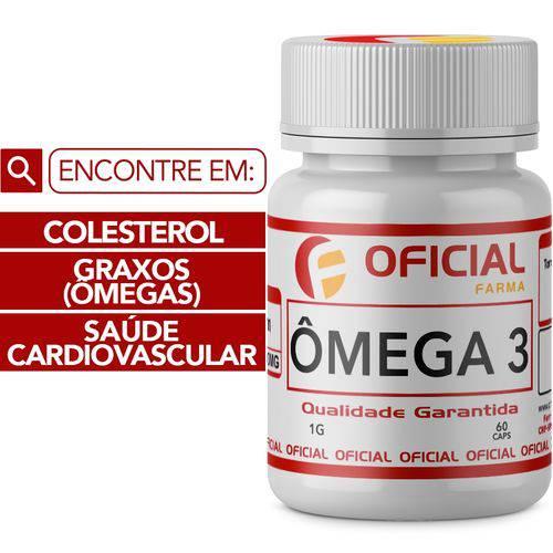 Omega 3 1G 60 Cápsulas