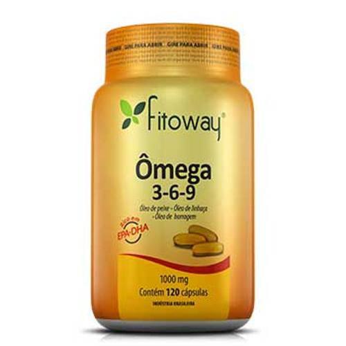 Omega 369 Fitoway (Peixe + Linhaça + Borragem) 1.000mg