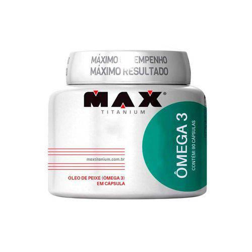 Ômega 3 com 90 Cápsulas - Max Titanium