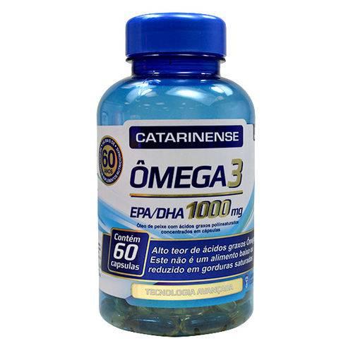 Omega 3 Epa - Dha 1000mg 60 Capsulas - Catarinense