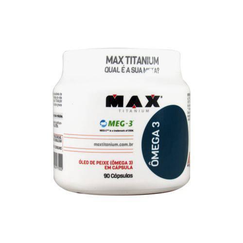Ômega 3 Epa Dha (90cáps) Max Titanium