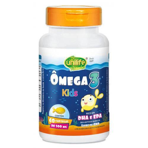 Omega 3 Kids 60 Capsulas Unilife