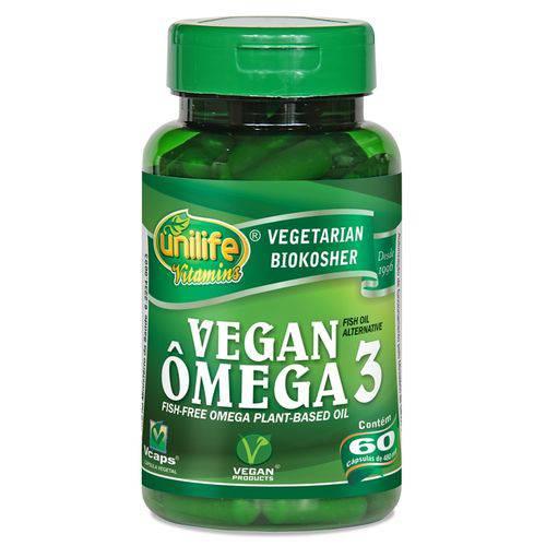 Omega 3 Vegan 60 Capsulas Unilife