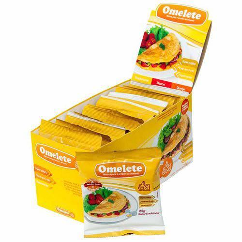 Omelete 12 Sachês - ASA