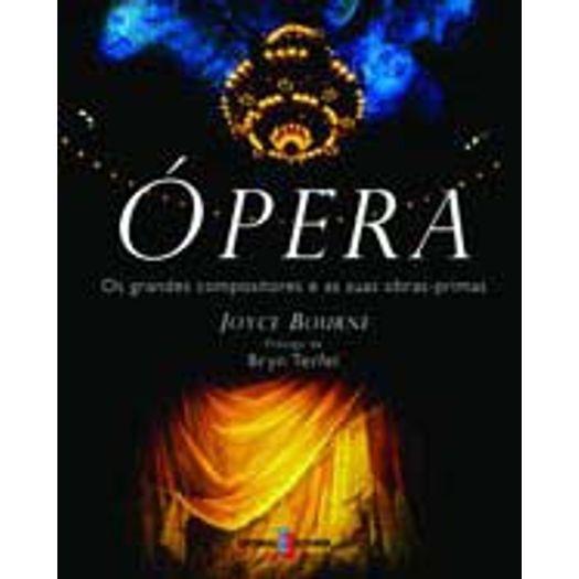 Opera - os Grandes Compositores e as Duas Obras Primas - Estampa