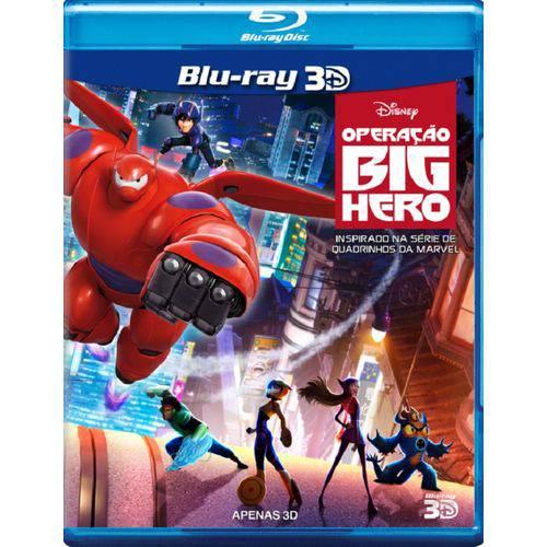 Operação Big Hero - Blu-Ray 3D Filme Infantil