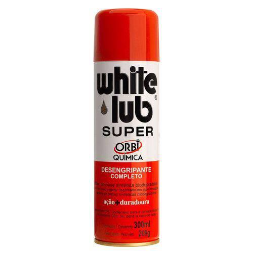 Orbi Quimica White Lub Super Desengripante Aerosol 300ml