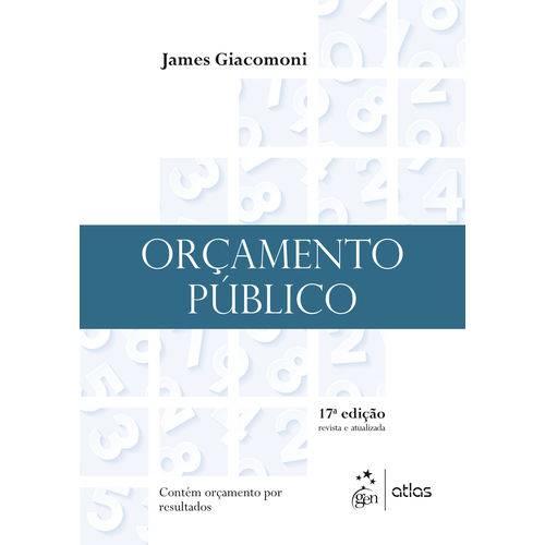 Orçamento Público - 17ª Ed.