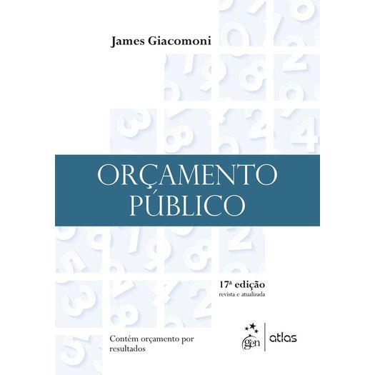 Orcamento Publico - Giacomoni - Atlas