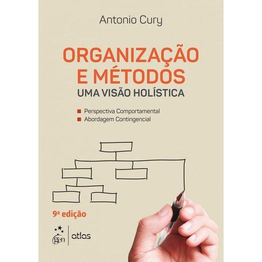 Organizacao e Metodos - Cury - Atlas